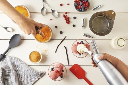 Sifones de cocina con los que dar un toque profesional a tus platos