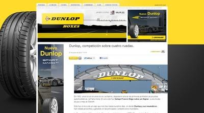 Presentamos Boxes Dunlop en Motorpasión