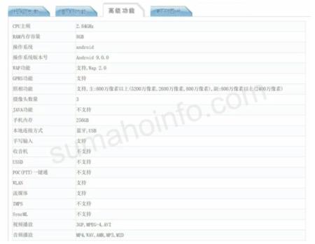 Filtración del Sony Xperia XZ4