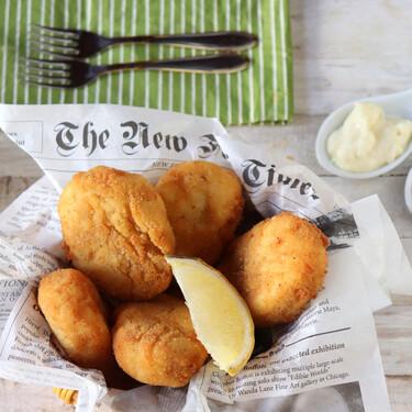 Receta de nuggets de pescado para el picoteo del finde