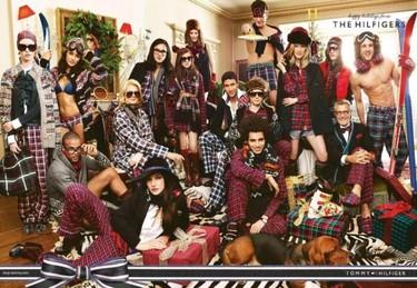 'Los Hilfigers' dan la bienvenida a la Navidad 2011/2012