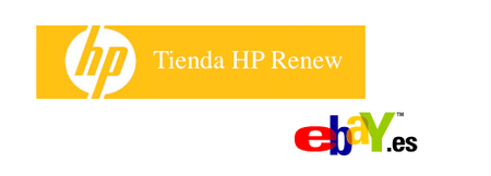 HP Renew, saldos de HP en eBay