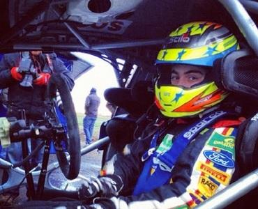Los chicos de la Academy probaron el Ford Fiesta RS WRC