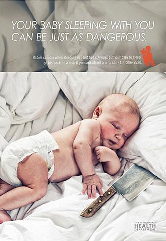 Colechar con un bebé es como ponerlo a dormir junto a un cuchillo