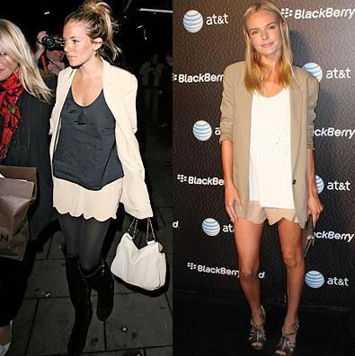 Cómo vestir de color maquillaje, por Sienna Miller y Kate Bosworth