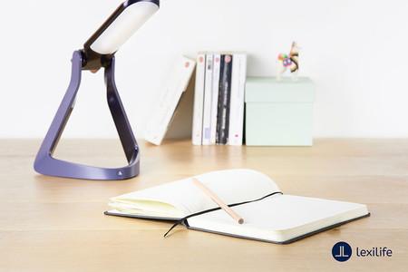 Lexilight: esta lámpara ha sido creada para intentar mitigar los problemas provocados por la dislexia en el aprendizaje