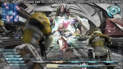 Nuevas capturas de 'Final Fantasy XIII'
