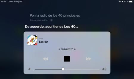 Siri emisora de radio España