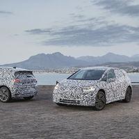 El Volkswagen ID eléctrico se deja ver en Sudáfrica, a un año del inicio de su producción, en noviembre de 2019