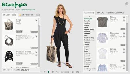 El Corte Inglés lanza su tienda de moda online