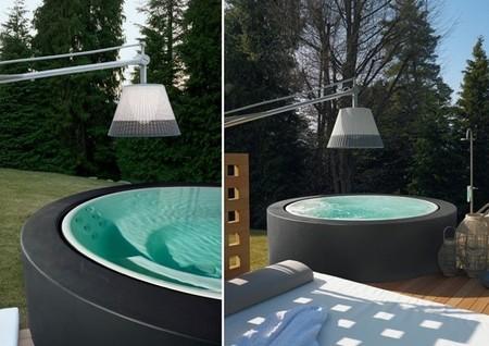 Mini piscina de kos un complemento perfecto para el jard n - Piscinas para espacios reducidos ...
