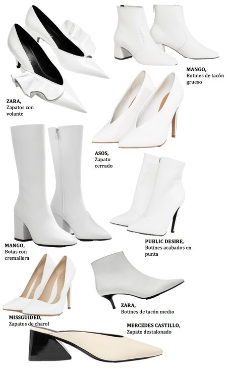 Calzado Blanco 2017