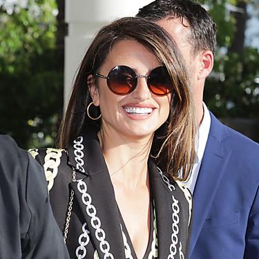 Penélope Cruz apuesta por las cadenas para su último look en Cannes (y nos conquista)
