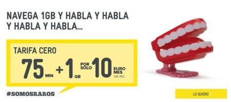 MÁSMÓV!L añade a las combinaciones de su tarifa Cero un nuevo bono de 75 minutos por 3.95 euros