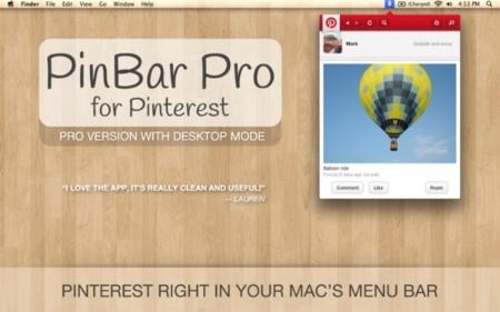 PinBar Pro, un cliente para Pinterest interesante pero que debe mejorar