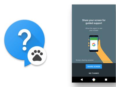 Google estaría preparando para sus Nexus una aplicación de soporte en vivo con pantalla compartida