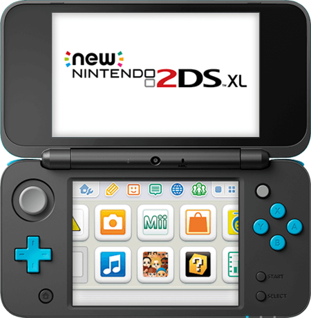 New Nintendo 2ds Xl Flat Front