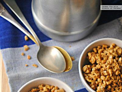 Cómo hacer granola casera. El desayuno más crujiente