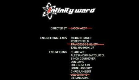 Infinity Ward sigue quedándose sin gente... importante