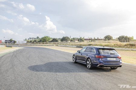 Audi RS4 2018 Prueba 8