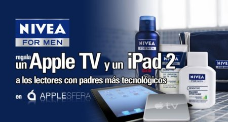 Participa en el club Applesfera y NIVEA FOR MEN y gana un Apple TV y un iPad 2... gracias a tu padre [Finalizado]