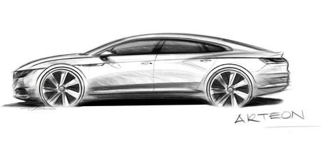Volkswagen Arteon, rumbo a Ginebra