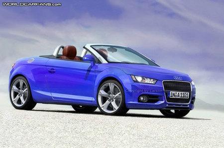 Recreación del Audi A1 Cabriolet y datos del Audi S1