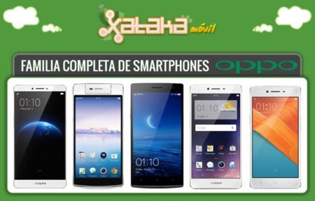 Así queda el catálogo completo de smartphones Oppo tras la llegada del Oppo R7s