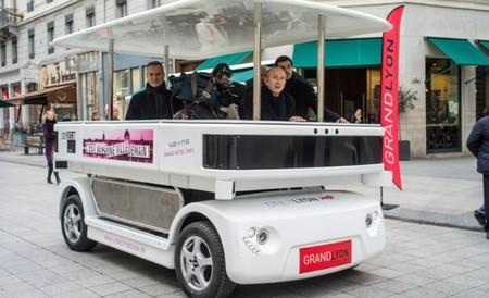 Un microbús eléctrico sin conductor se probará en España