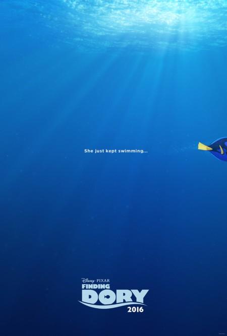 Teaser póster de Buscando a Dory (Finding Dory)