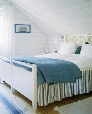 Puertas abiertas: aprovechar un dormitorio abuhardillado