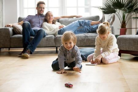 hogar más seguro para los niños hogar conectado tareas de la casa