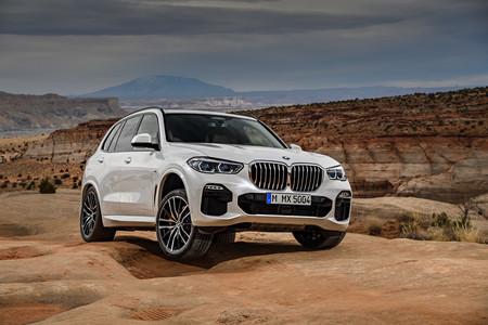 BMW X5 2019 cruce ejes