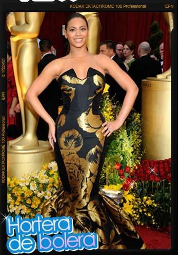 Beyonce Knowles se viste de gala para asistir al Hortera de Bolera