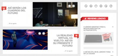 Blog de Lenovo, pasa a conocer el nuevo proyecto de empresa