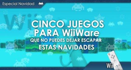 Cinco videojuegos para WiiWare que no puedes dejar escapar estas navidades