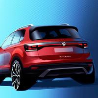 Volkswagen T-Cross: el más pequeño de la familia SUV de la marca, dice hola en este primer teaser