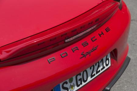 Porsche Boxster Spyder Toma Contacto 16