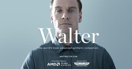 Conozcan a 'Walter', el inquietante androide de 'Alien: Covenant' en un nuevo vídeo