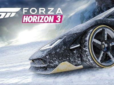 Forza Horizon 3 recibe el pack Alpinestars Car y nos invita a viajar a la nieve en su próxima expansión