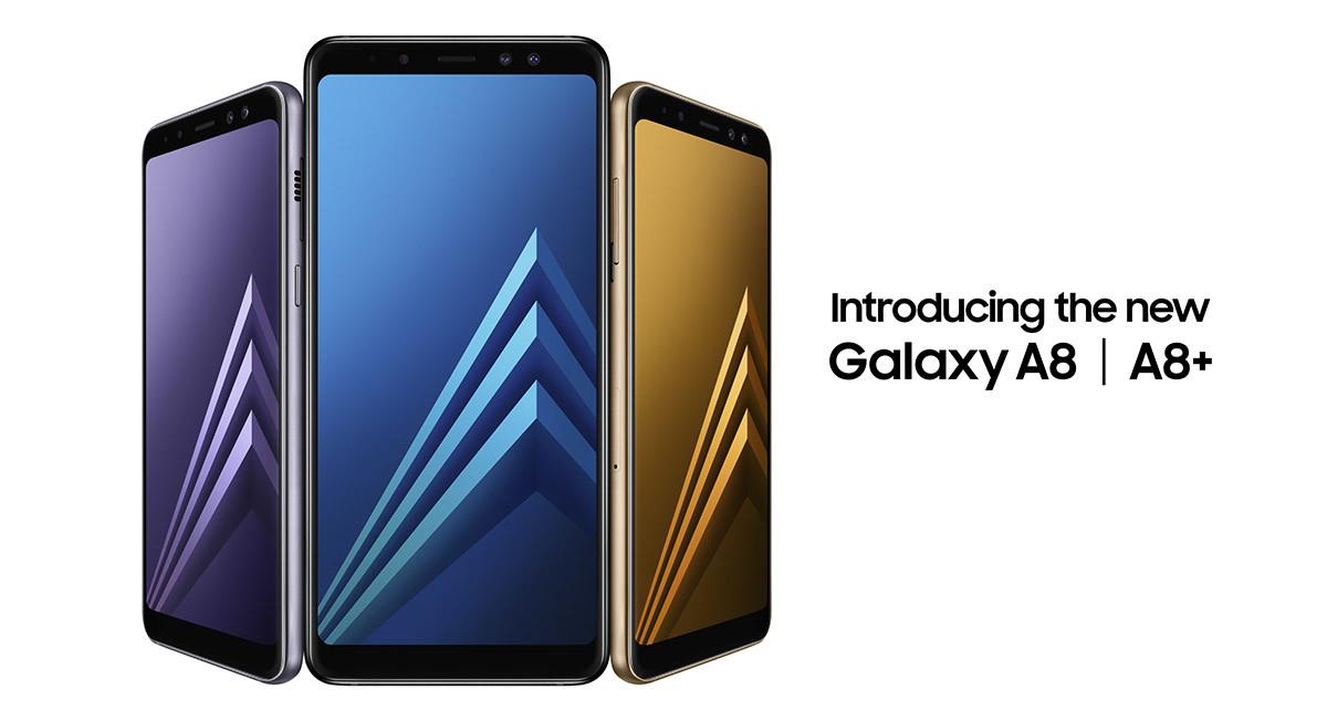 1dd89258ef59a Galaxy A8 (2018) y A8+ (2018)  características