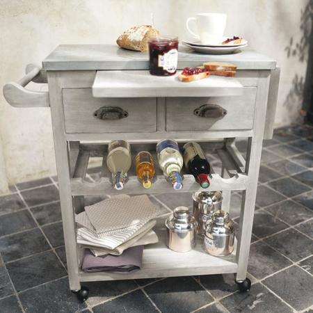 4 muebles auxiliares para dar encanto a tu cocina for Camareras para cocina