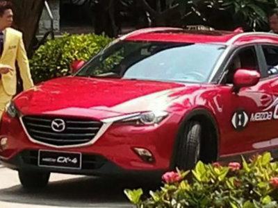 El Mazda CX-4 se descubre antes del Salón de Pekín, y es más armonioso que otros SUV coupé