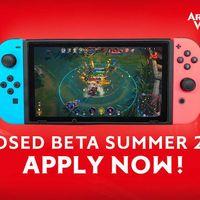 La beta de Arena of Valor en Switch arranca el 28 de junio y caldea el ambiente con un nuevo tráiler