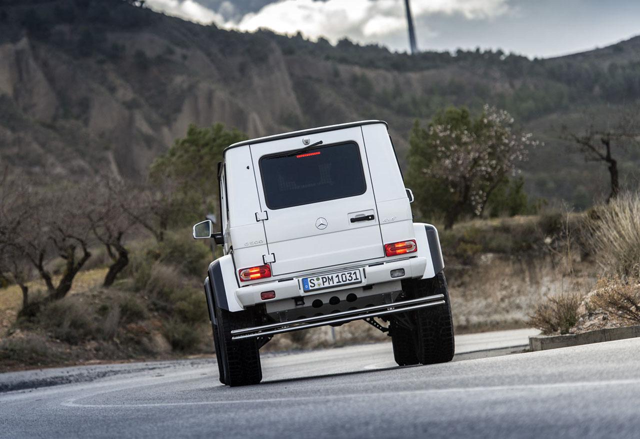 Foto de Mercedes-Benz G 500 4x4², toma de contacto (24/127)