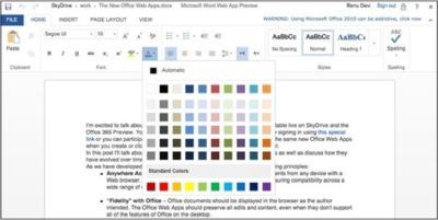 Microsoft añade soporte touch a algunas de sus herramientas