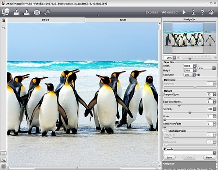Akvis Magnifier 5.5 se actualiza para dar soporte a Photoshop CS6