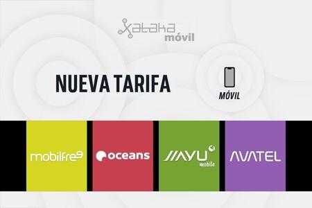 Los OMVs de Yoigo dan el salto a los 100 GB: así quedan las nuevas tarifas de Oceans, Jiayu, Mobilfree, Netllar, Avatel y NO RED