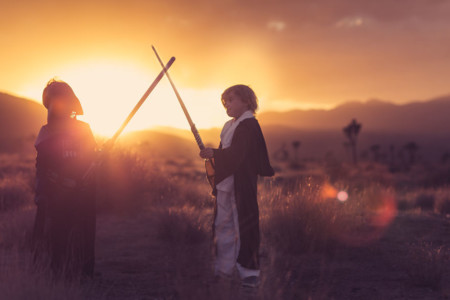 I Recreated Star Wars Tatooine In The Desert With My Children 3 880 1