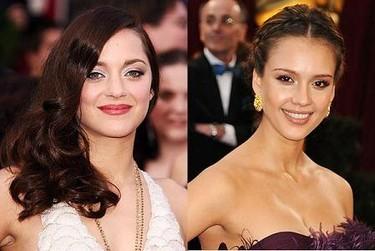Peinados y maquillaje de las celebrities en los Oscars